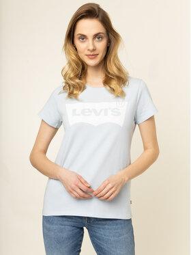 Levi's® Levi's® T-Shirt The Perfect Graphic Tee 17369-0777 Modrá Regular Fit