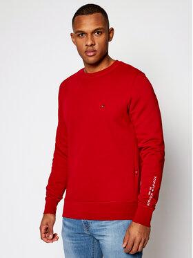 Tommy Hilfiger Tommy Hilfiger Pulóver Sweatshirt MW0MW15840 Piros Regular Fit