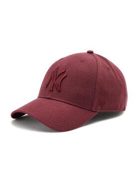 47 Brand 47 Brand Шапка с козирка New York Yankees B-MVPSP17WBP-KMA Бордо