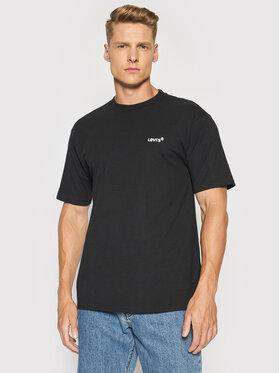 Levi's® Levi's® T-Shirt Red Tab™ A0637-0001 Černá Boxy Fit