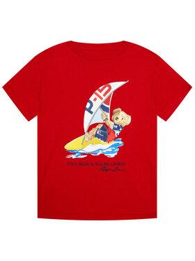 Polo Ralph Lauren Polo Ralph Lauren T-shirt Ss Cn 322838249003 Rouge Regular Fit