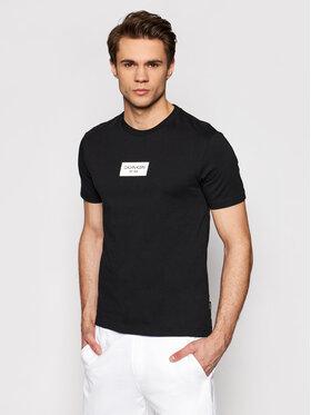 Calvin Klein Calvin Klein Marškinėliai K10K106484 Juoda Regular Fit
