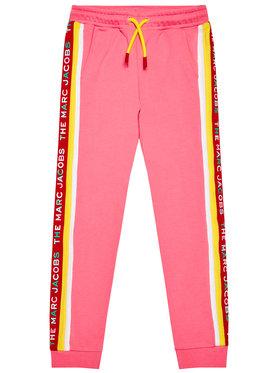Little Marc Jacobs Little Marc Jacobs Pantaloni da tuta W14264 D Rosa Regular Fit