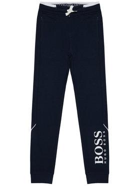 Boss Boss Παντελόνι φόρμας J24J35 S Σκούρο μπλε Regular Fit