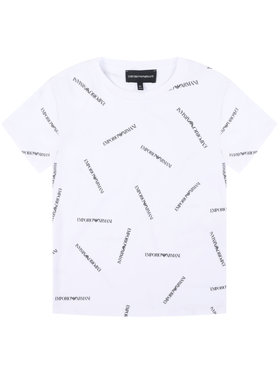 Emporio Armani Emporio Armani T-shirt 3H4TD7 4J09Z F112 Bianco Regular Fit