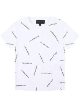 Emporio Armani Emporio Armani T-shirt 3H4TD7 4J09Z F112 Bijela Regular Fit