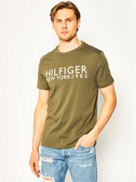 TOMMY HILFIGER TOMMY HILFIGER T-Shirt Ss Logo UM0UM01172 Πράσινο Regular Fit