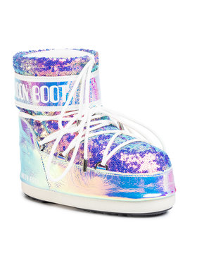 Moon Boot Moon Boot Śniegowce Mb Classic Low 50 Leather Holo 14089400001 Kolorowy
