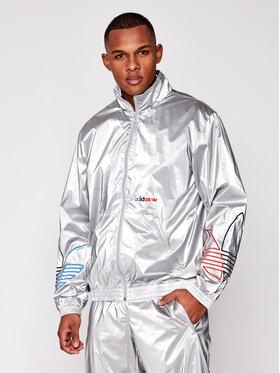 adidas adidas Geacă Tricol GN4208 Argintiu Regular Fit