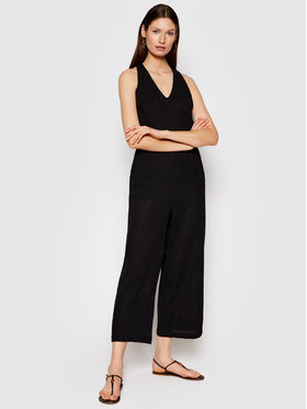 Seafolly Seafolly Jumpsuit Beachedit 54268-JS Nero Relaxed Fit