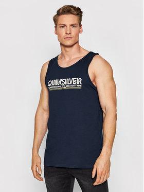 Quiksilver Quiksilver Tank top marškinėliai Like Gold EQYZT06336 Tamsiai mėlyna Regular Fit