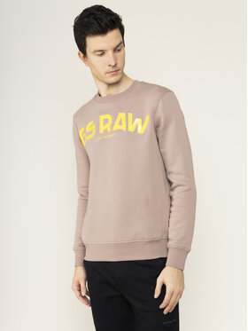 G-Star Raw G-Star Raw Bluza D16468-A971-B113 Brązowy Regular Fit