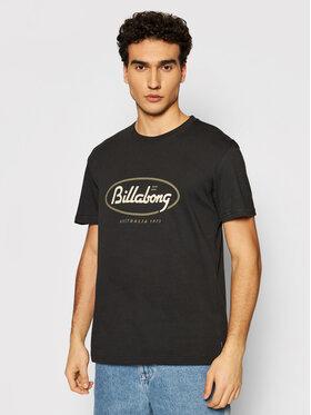 Billabong Billabong Marškinėliai State Beach S1SS03 BIP0 Juoda Regular Fit