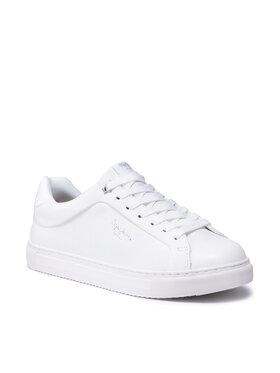 Pepe Jeans Pepe Jeans Sneakersy Adams Collins PLS31199 Bílá