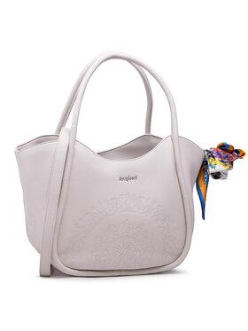 Desigual Desigual Τσάντα 21SAXPCN Λευκό
