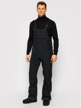 Volcom Volcom Snowboardové nohavice Roan Rib Overall G1351909 Čierna Relaxed Fit