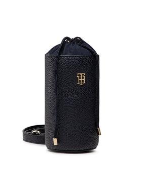 Tommy Hilfiger Tommy Hilfiger Handtasche Th Soft Bottle Holder AW0AW10222 Schwarz