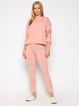 Guess Guess Piżama O0BX03 KA5Y0 Różowy Slim Fit