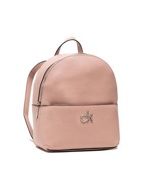Calvin Klein Calvin Klein Zaino Round Bp W/Pckt Sm K60K608557 Rosa