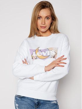 Levi's® Levi's® Majica dugih rukava Standard Graphic Fleece 18686-0004 Bijela Regular Fit