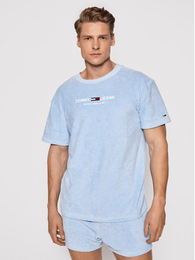 Tommy Jeans Tommy Jeans T-shirt Tjm Toweling Tee DM0DM11528 Bleu Regular Fit