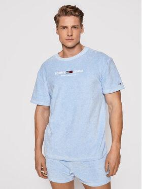 Tommy Jeans Tommy Jeans T-shirt Tjm Toweling Tee DM0DM11528 Plava Regular Fit