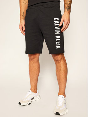 "Calvin Klein Performance Calvin Klein Performance Pantaloni scurți sport 9"" Knit 00GMF0S817 Negru Regular Fit"