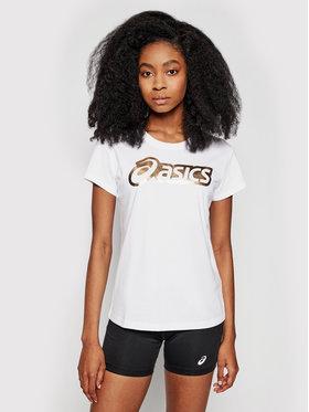 Asics Asics T-shirt Logo Graphic 2032B406 Bianco Regular Fit