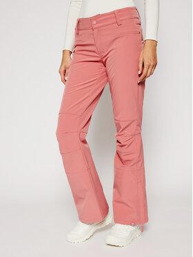 Roxy Roxy Lyžařské kalhoty Creek ERJTP03123 Růžová Skinny Fit