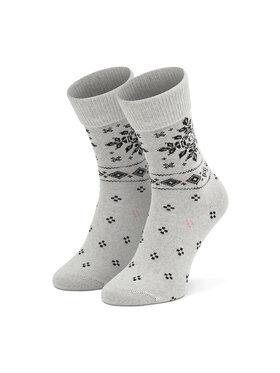 Tommy Hilfiger Tommy Hilfiger Ženske visoke čarape 701210529 Siva