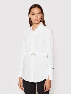 Patrizia Pepe Patrizia Pepe Košulja 8C0464/AB01-W103 Bijela Slim Fit