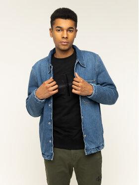 Calvin Klein Jeans Calvin Klein Jeans Jeansjacke Padded Denim Shirt J30J314386 Blau Regular Fit