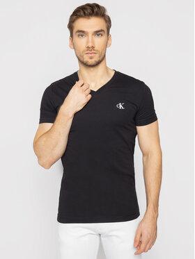 Calvin Klein Jeans Calvin Klein Jeans T-Shirt J30J314998 Černá Slim Fit