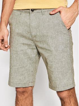 Jack&Jones Jack&Jones Szorty materiałowe Dave 12184684 Zielony Regular Fit