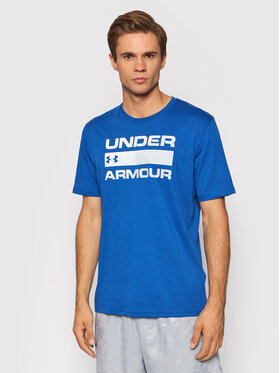 Under Armour Under Armour Tricou Ua Team Issue Wordmark 1329582 Albastru Loose Fit