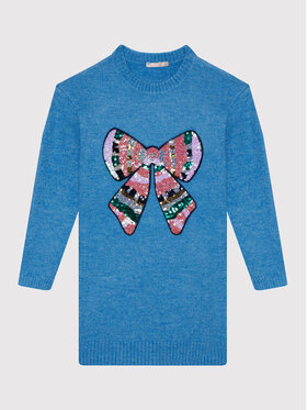 Billieblush Billieblush Každodenní šaty U12675 Modrá Regular Fit