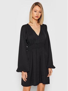 NA-KD NA-KD Sukienka codzienna 1100-004237-0002-581 Czarny Slim Fit