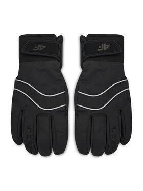 4F 4F Lyžiarske rukavice H4Z20-RED004 Čierna