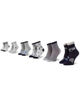 Mayoral Mayoral Σετ ψηλές κάλτσες παιδικές 6 τεμαχίων 9244 Σκούρο μπλε