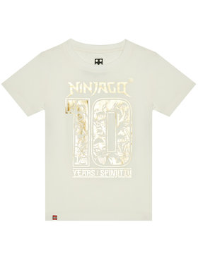 LEGO Wear LEGO Wear T-Shirt 12010195 Biały Regular Fit