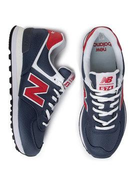 New Balance New Balance Sneakersy ML574SCJ Tmavomodrá