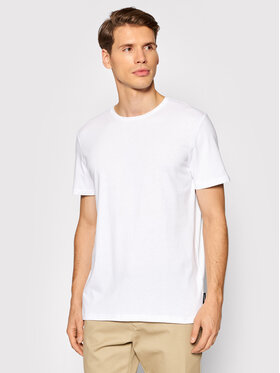 Outhorn Outhorn T-Shirt TSM600 Biały Regular Fit