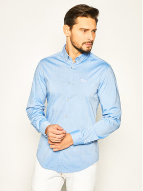 Boss Boss Košile Biado_R 50425606 Modrá Regular Fit