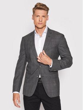 Boss Boss Švarkas Hartlay2 50444035 Pilka Slim Fit