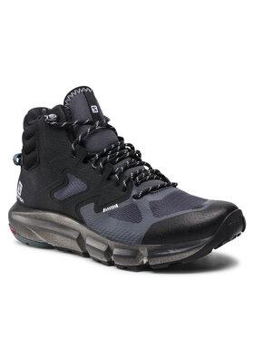 Salomon Salomon Trekingová obuv Predict Hike Mid Gtx GORE-TEX 414609 27 V0 Černá