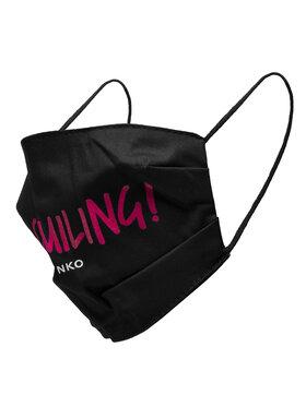 Pinko Pinko Текстилна маска Lolita Marscherina 20202 PRR 1N20CH.Y6XS Черен