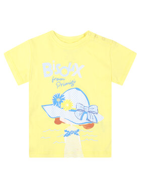 Primigi Primigi T-Shirt St Tropez Bisous 45221504 Κίτρινο Regular Fit
