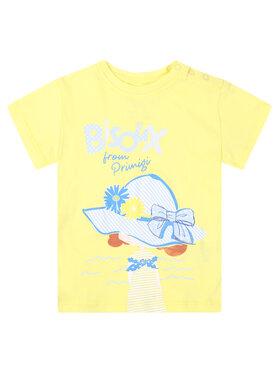 Primigi Primigi T-Shirt St Tropez Bisous 45221504 Żółty Regular Fit