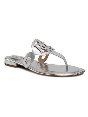 Lauren Ralph Lauren Lauren Ralph Lauren Flip flop Audrie 802840597002 Argintiu