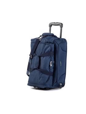Dielle Dielle Kis szövetborítású bőrönd 475 Sötétkék